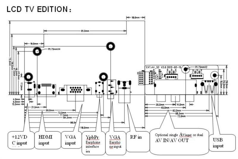 universal tv motherboard board tv certifications ce