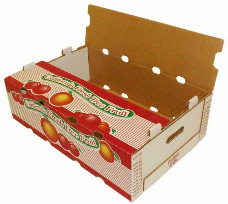 Carton Box For Pineapple Packing Carton For Fresh Pinea