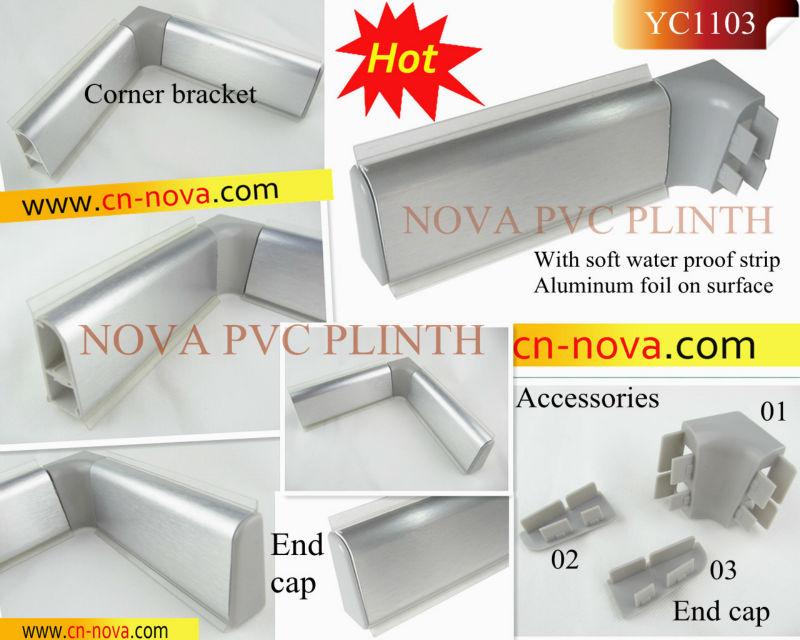 클리어 부엌 Plinths,Pp 주각,벽 씰 프로필,부엌 주각,캐비닛 Plinths ...