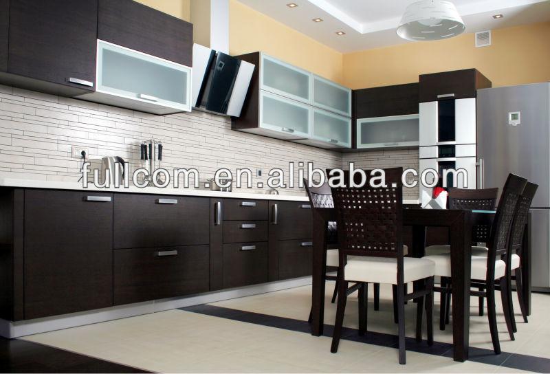 Modern German Wenge Pvc Door For Kitchen Cabinet - Buy German ...