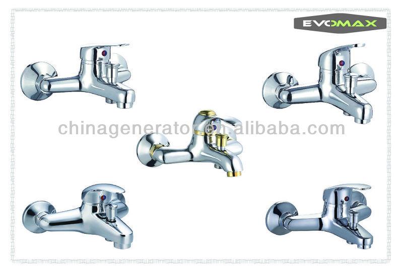 Gold Plated Bathroom Faucet/washing Hair Salon Faucet/salon Sink Faucet