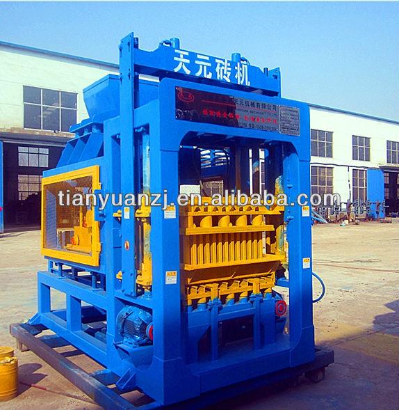 Qty4-15a Brick Making Machine Price List/automatic Machine De ...