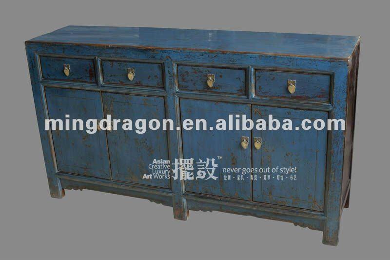 chinois antique bleu fonc shanxi elm bois distressed meuble lavabo buy bois imperm able l. Black Bedroom Furniture Sets. Home Design Ideas
