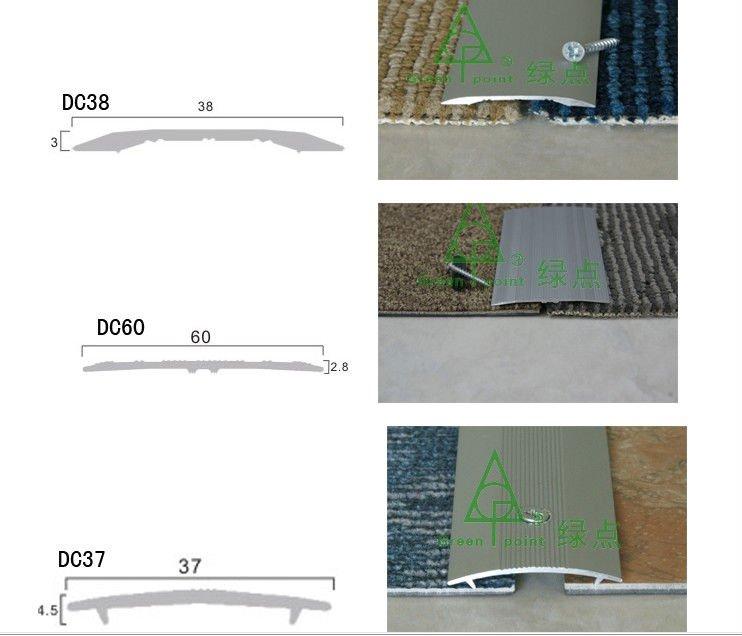 Capet Deviding Strips Carpet Edge Trim Flexible Plastic