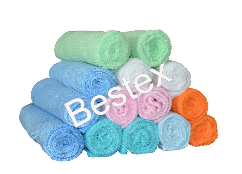 White Cheap Wholesale Promotional Sport Towel Microfiber