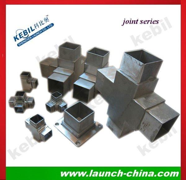 Square tube connectors for aluminium pipe buy