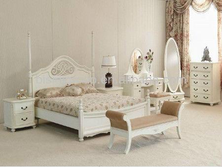 Colore Biancoin Legno Di Design Semplice Camera da letto suite,Letto ...
