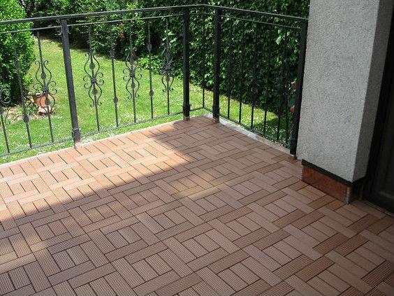 Nuovo prodotto fai da te pavimenti wpc impermeabile interno