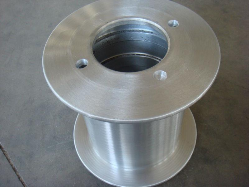 Metal Wire Spools : Machined steel bobbin reel for bunching machine buy