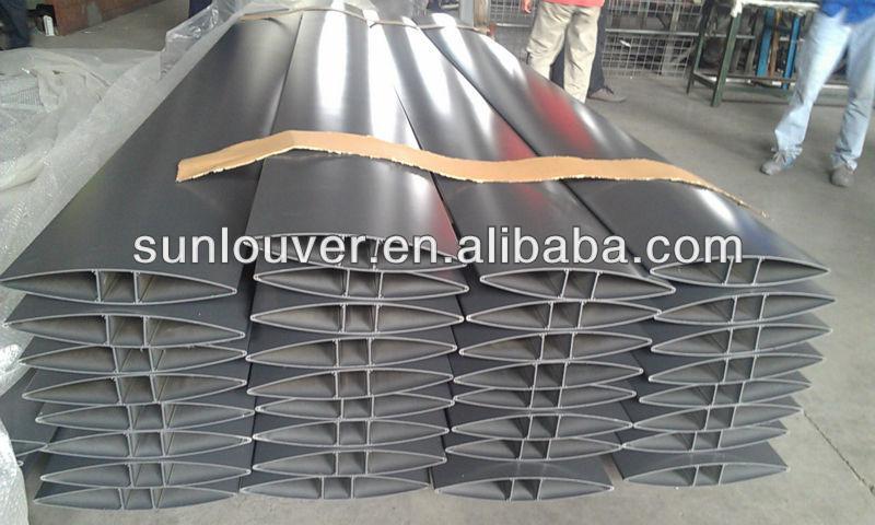 Deluxe Outlook Aluminium Profile Louver /shutter For Building ...