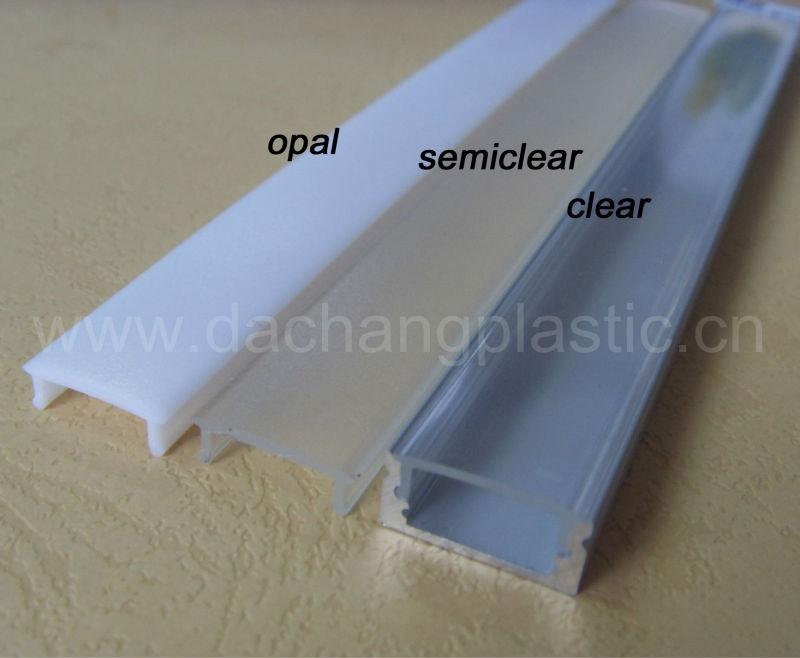 Polycarbonate Diffuser For Aluminum Led Light Profile