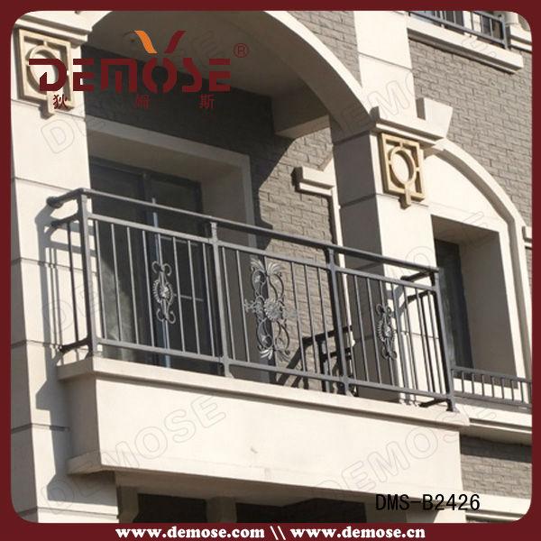 Wrought iron balcony window railing designs buy window for Window railing design