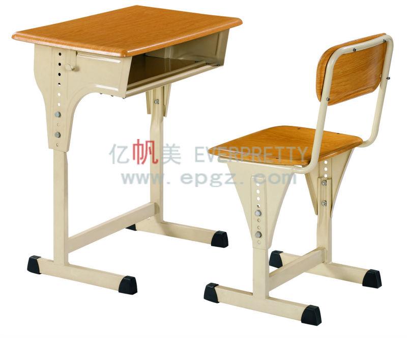 Moulded Board School Desk Furniture Homework Table For Kids