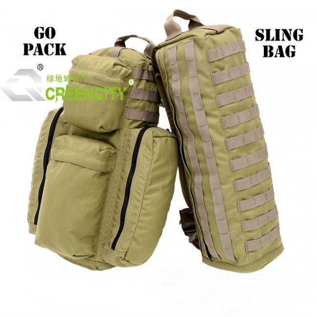 Military Tactical Aslant Single Sling Go Bag Gym Pack