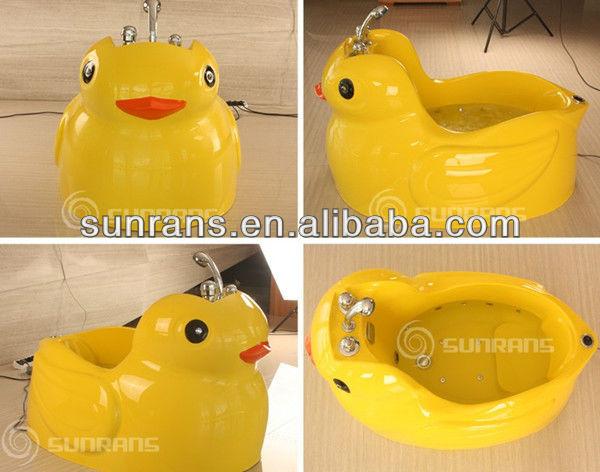 Vasca Da Bagno Bambini : Anatra di figura portatile del bambino vasche da bagno vasca da