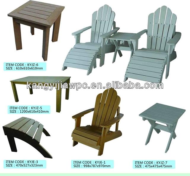 Wpc Outdoor Furniture Buy Wood Plastic Composite Furniture Rattan Outdoor Furniture Waterproof