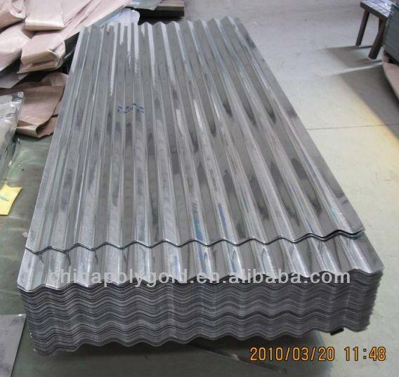 Cameroon Zinc Short Span Roofing Sheet