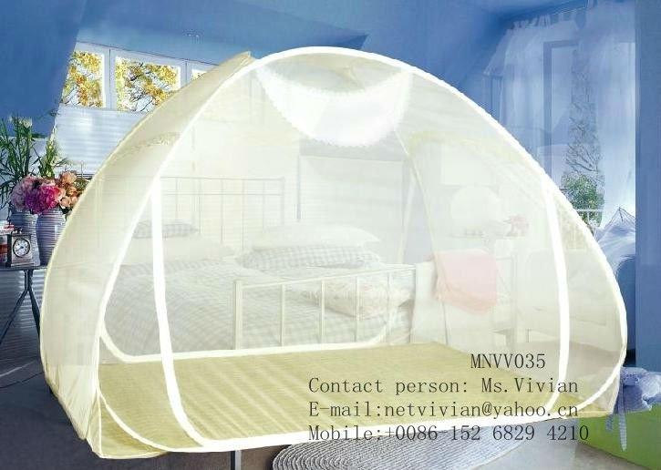 Gefaltet Freistehende Mongolei Moskitonetz Bett Zelt - Buy Product