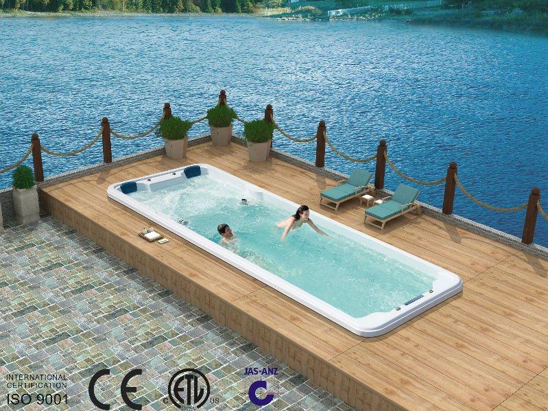 8 meter large swim pool fs s08b luxurious swim hot tub. Black Bedroom Furniture Sets. Home Design Ideas