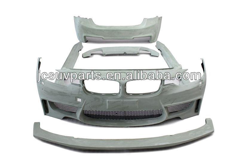 car body kit f30 m3 frp body bumper kit for bmw f30 m3 fiber glass
