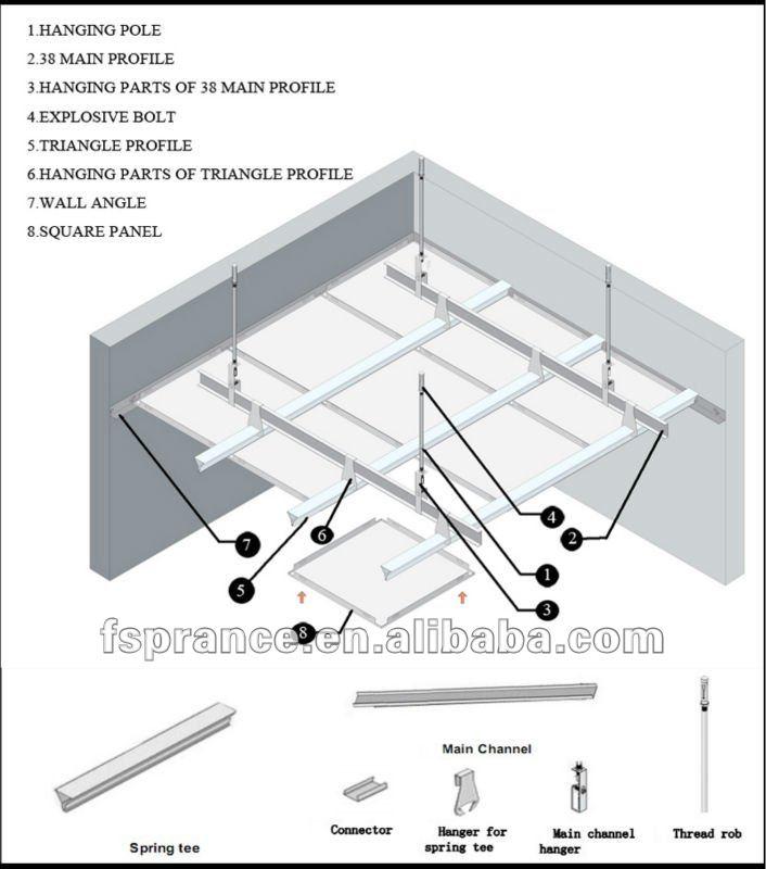 Composite Panel Ceiling : Modern sgs aluminum composite panel ceiling buy