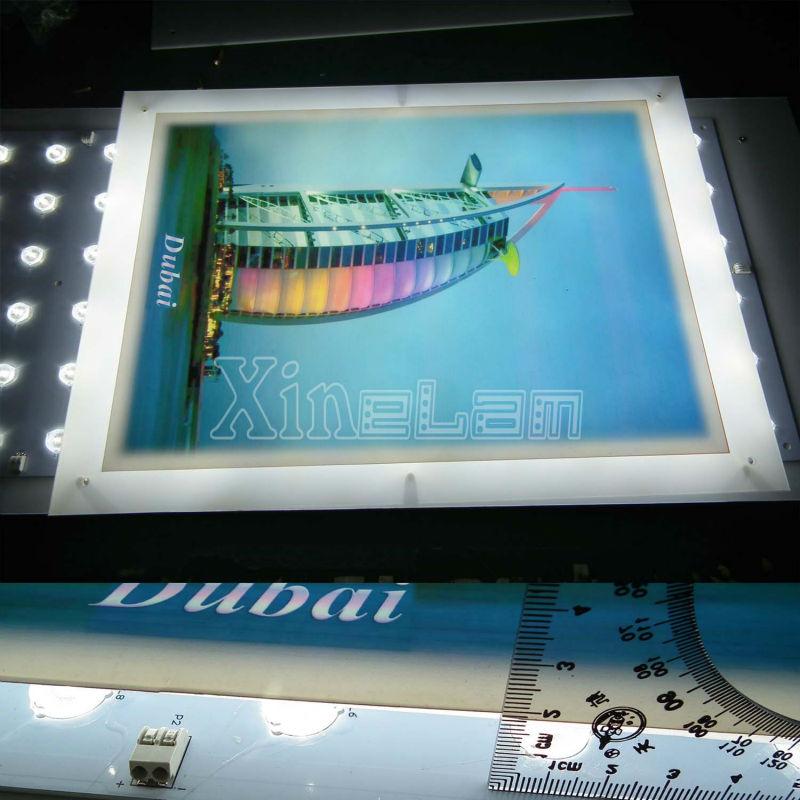 95w / M2 Panel 15 Led Backlight For Ultra Slim Light Box