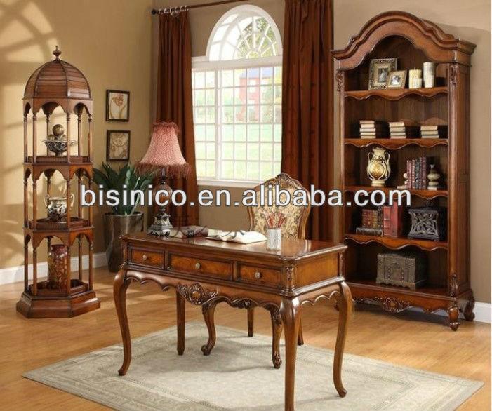 Estilo americano dise o soild madera escritorio de oficina Escritorios rusticos para oficina