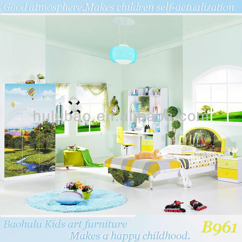 Discount Kids Furniture Childrens Bedroom Wardrobe Bed Computer Desk Nightstand Chair Buy Kids