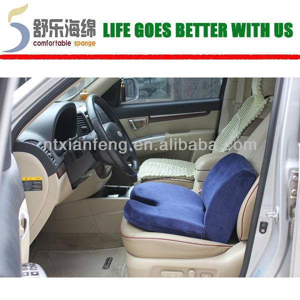 Comfortable U Shape Memory Foam Car Seat Cushion For Short