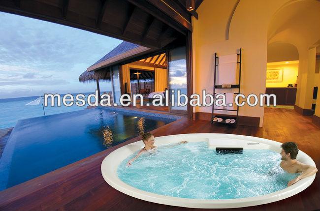 hot sale round circular luxury balboa big swim spa ws pc01. Black Bedroom Furniture Sets. Home Design Ideas