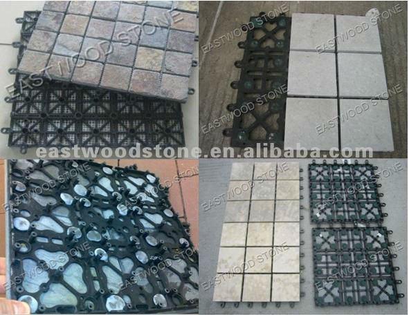 Interlocking Plastic Base For Deck U0026 Patio Tiles