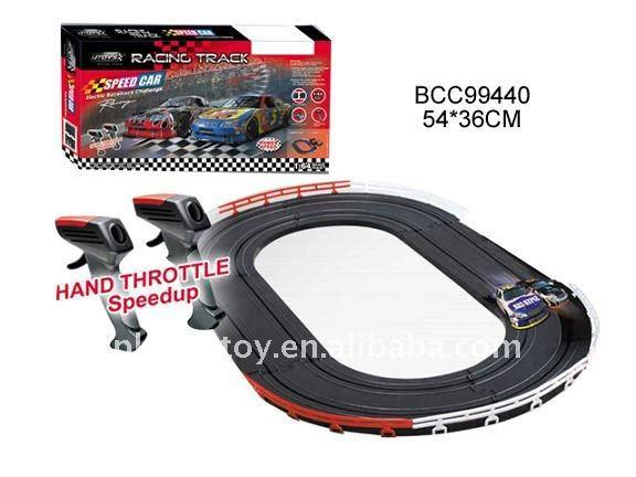hot children 164 electric slot cars tracks set bcc99434