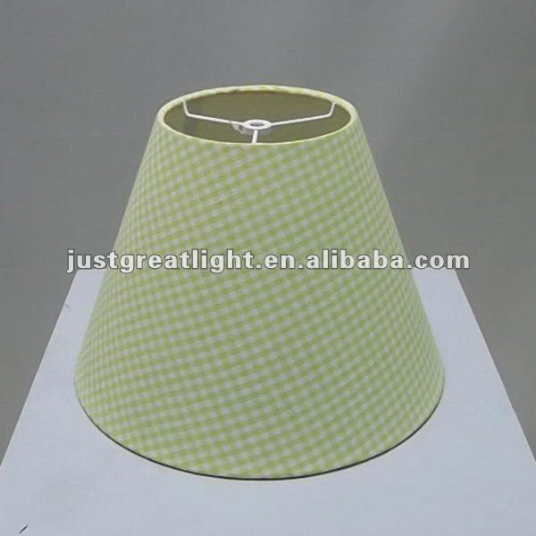 Light Green Fabric Desk Lamp Shade For Table Decoration - Buy Desk ...