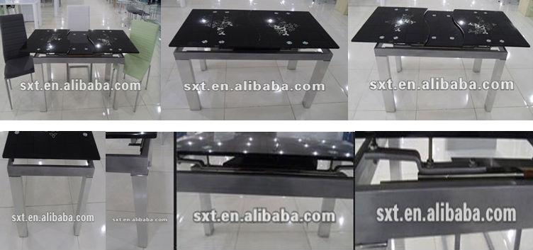 Lujo Moderno Extensible/plegable De Comedor De Diseño - Buy Diseños ...