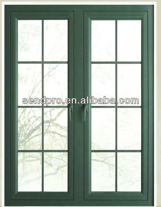Wood effect aluminum casement window buy wood effect for Buy casement windows