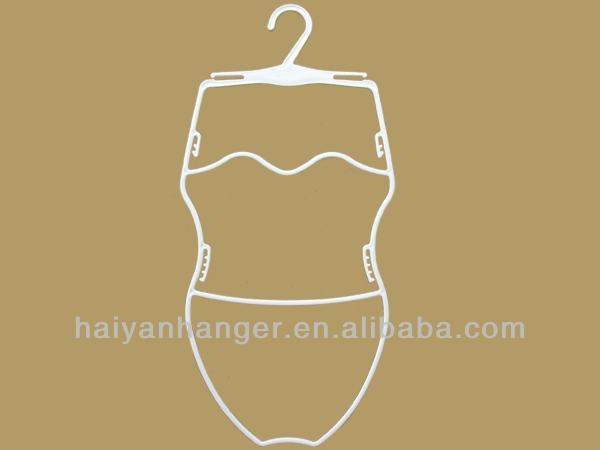 Struttura del corpo forma plastica appendiabiti bikini costumi da