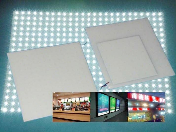 Led Backlit Panel For Restaurant Menu Board Waterproof Ip65