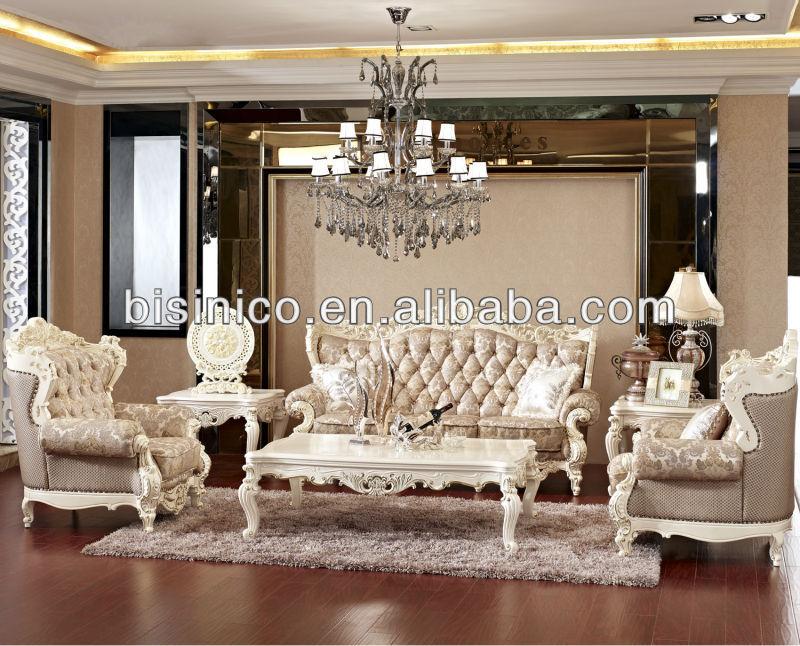 Vintage blanco real sal n muebles de estilo franc s sof for Muebles estilo frances