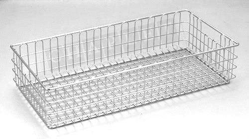 Chrome Wire Mesh Storage Baskets