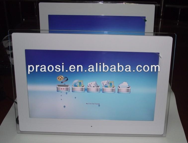 China Sxey Hd Video Frame Acrylic Digital Frame Photo 18 Inch - Buy ...