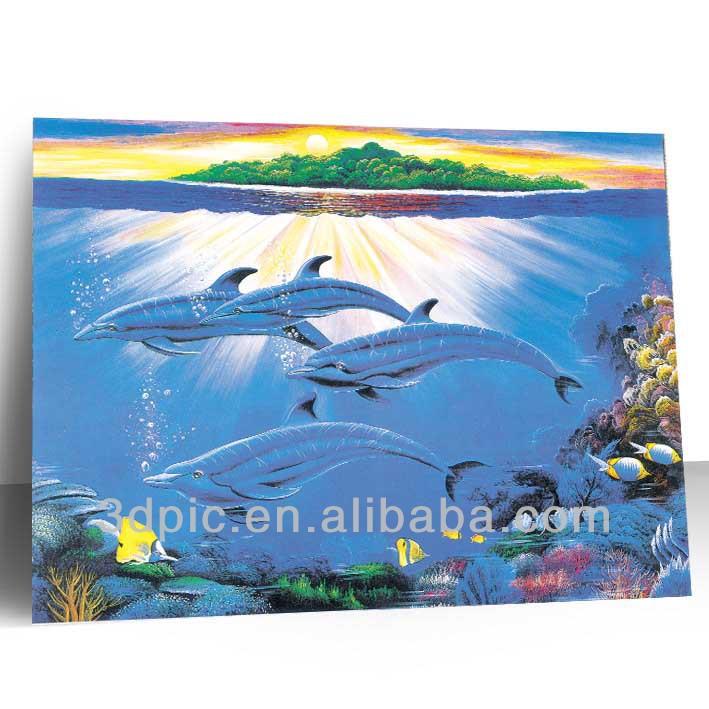 China Manufacturer Large Size Lenticular 3d Poster Design Of Sea ...