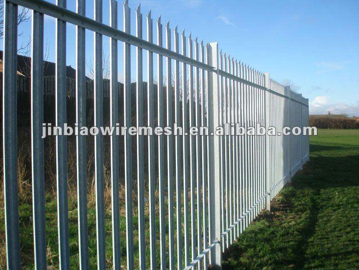 hot sales powder coated galvanized steel picket fencing. Black Bedroom Furniture Sets. Home Design Ideas