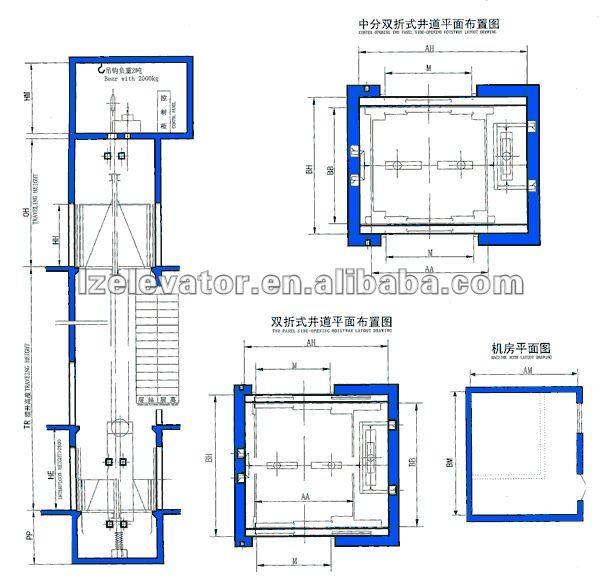 Hydraulic Car Elevator With Machine Room Buy Hydraulic
