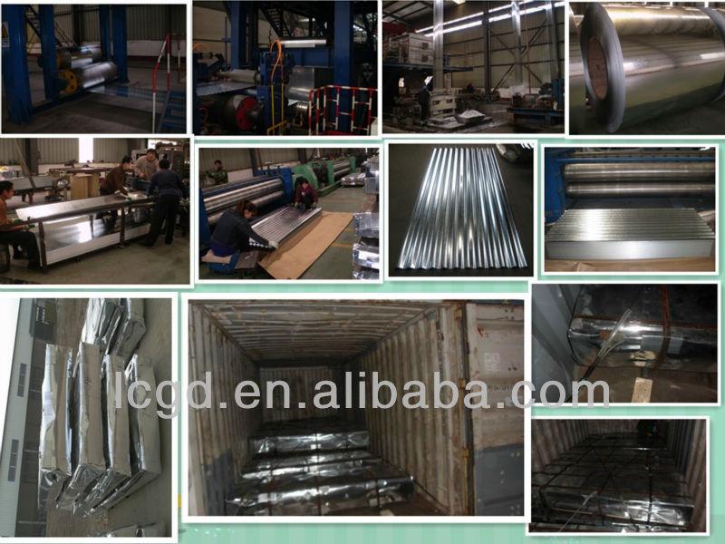 Toles Ondulees Galvanisees Galvanized Corrugated Metal