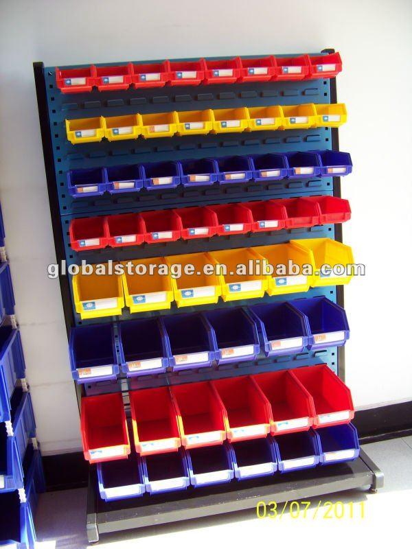 Wall Mounted Plastic Storage Bin