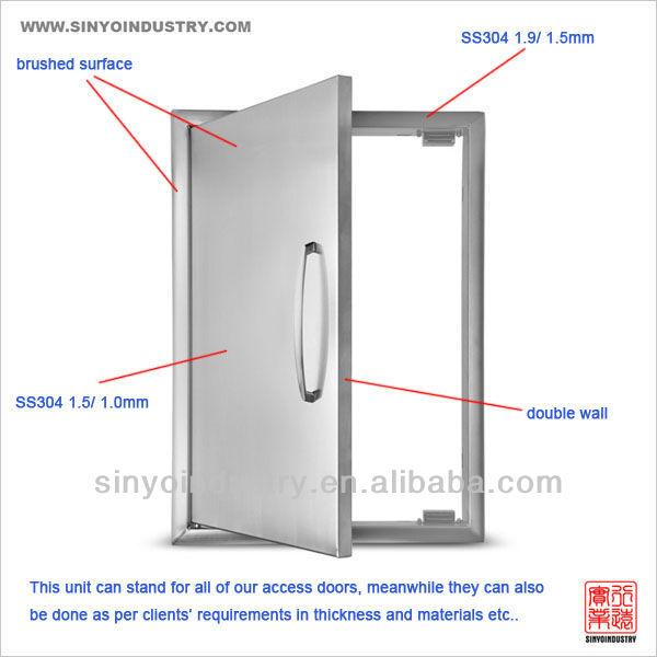 Bbq Island Stainless Steel Doors - Buy Bbq Island Stainless Steel ...