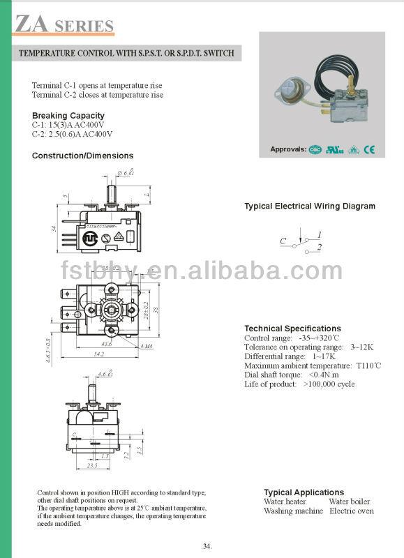 Hot kapiler cair ekspansi termostat untuk pemanas airboiler hot kapiler cair ekspansi termostat untuk pemanas airboilermesin cuci ccuart Gallery