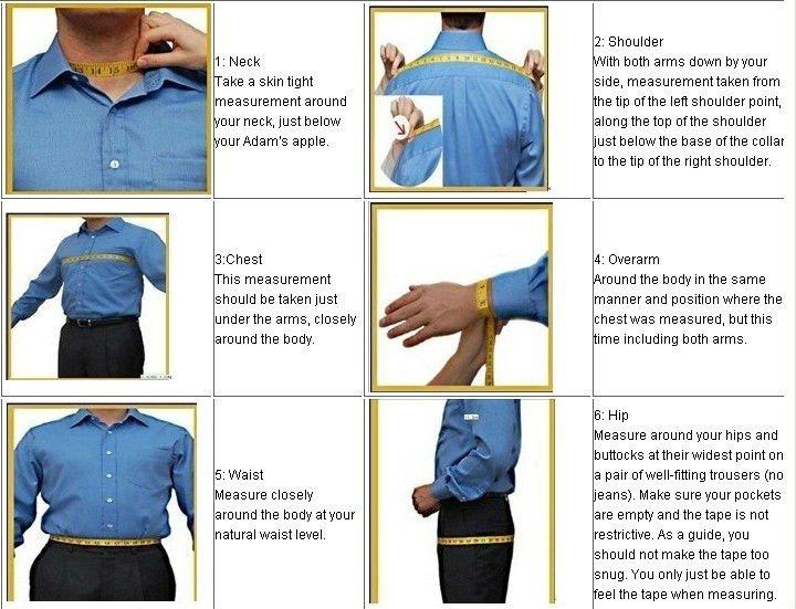 100 cotton custom made men shirt tuxedo shirt buy men for How to measure shirt size for man