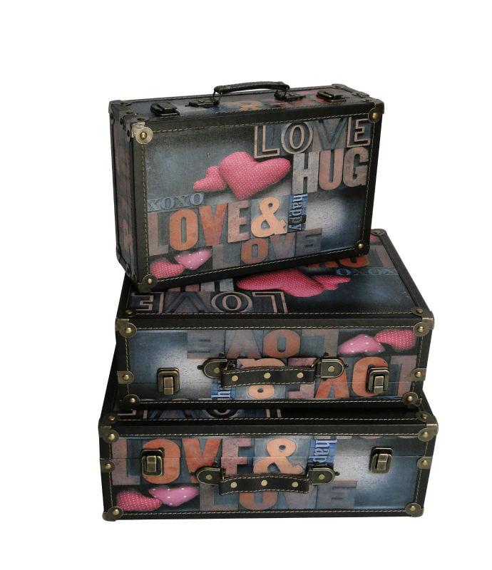 Old Fashion Style Vintage Decorative Storage Boxes Marilyn Monroe Suitcase