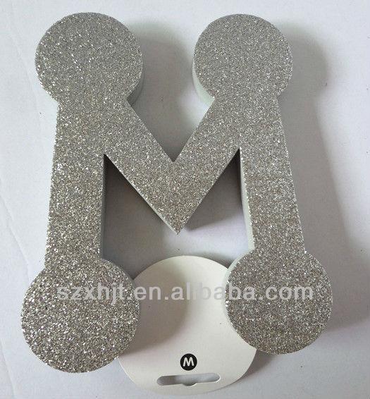 eva foam 3d letters glitter letters